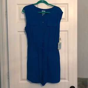 Blue romper, new with tags!